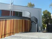 Terrassen - Herstellen Terrassenabdichtung einschl. Terrassenbelag auf Stelzlagern verlegt