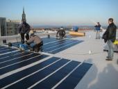 Photovoltaik - Flachdachsanierung und Errichtung einer Photovoltaikanlage